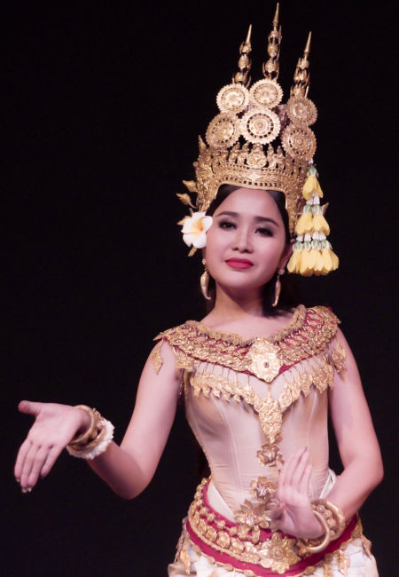 Danseuse cambodgienne Apsara.