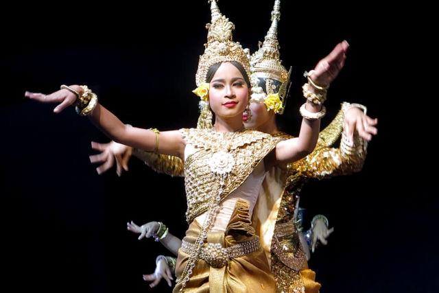 Danses Apsara au Cambodge.