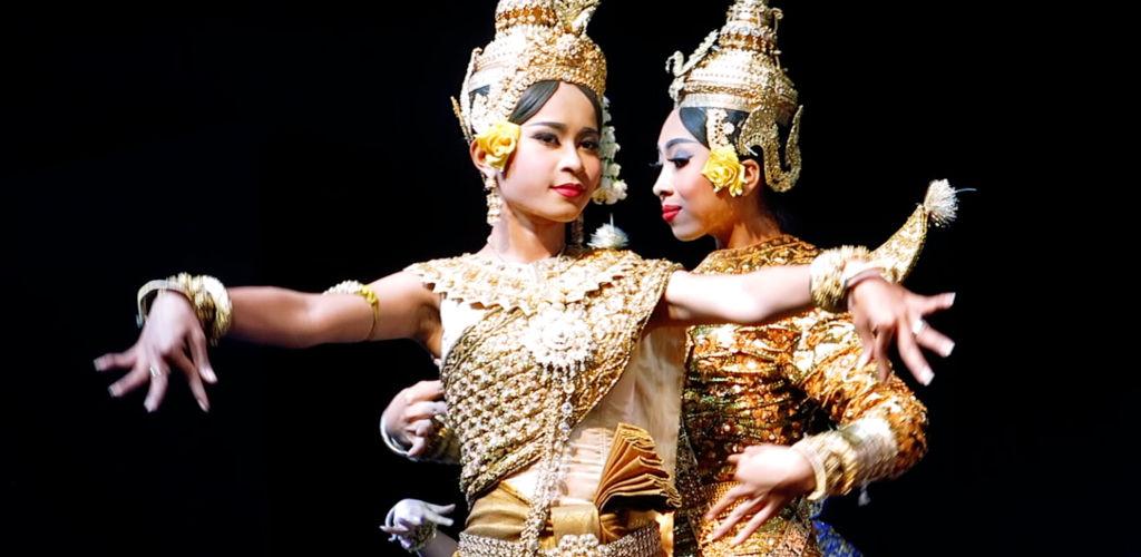 Danseuses Apsara cambodgiennes.