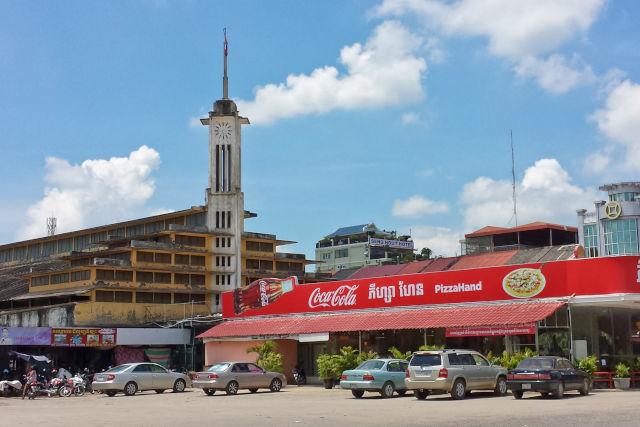 marché Phsar Thmey.