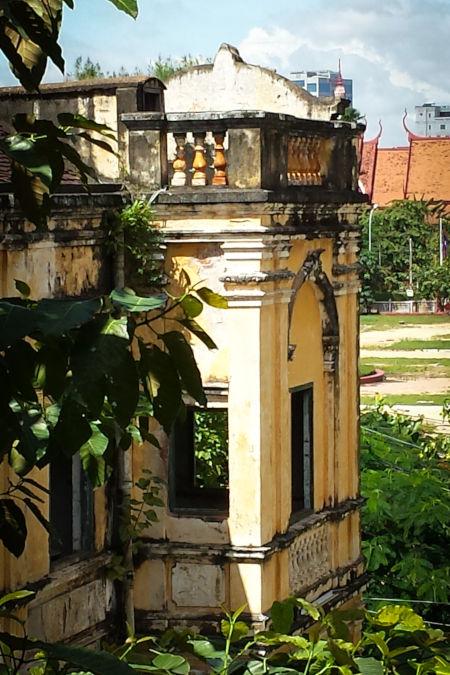 ruine villa.