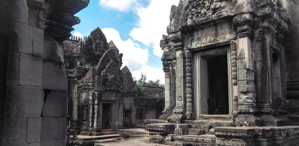 Le temple d'Angkor au Cambodge.