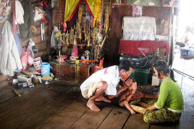 villageois cambodgiens.