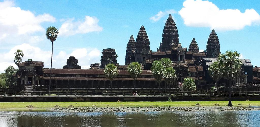 Temple d'Angkor Vat au Cambodge.