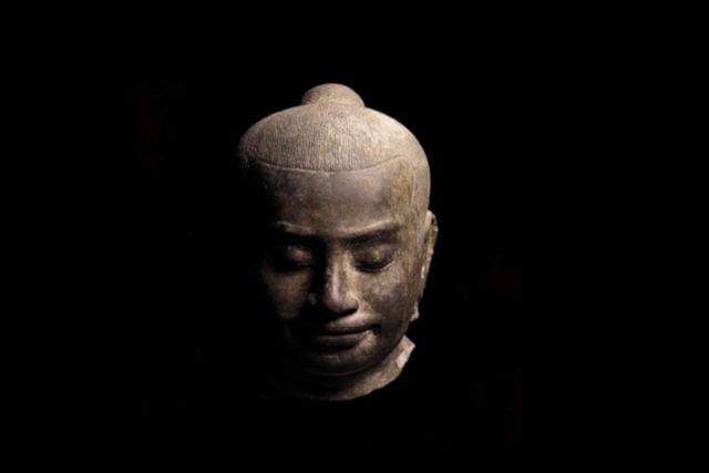 Statue de Buddha au Cambodge.