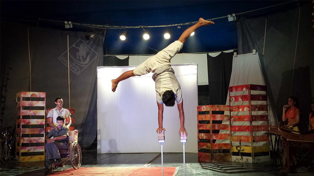 Le cirque Phare pour aider les enfants les plus démunis