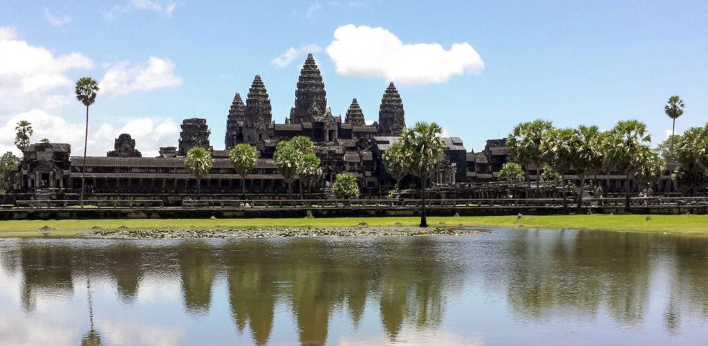 Le temple Angkor Wat au Cambodge.