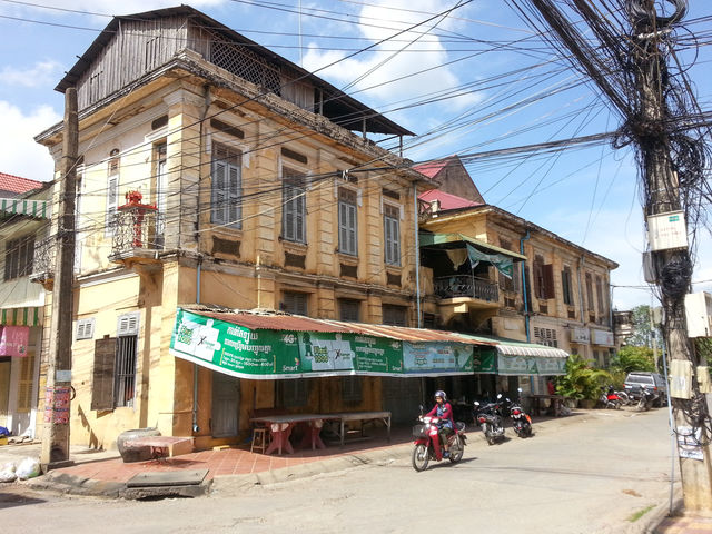 Le marché Phsar Nat au Cambodge.