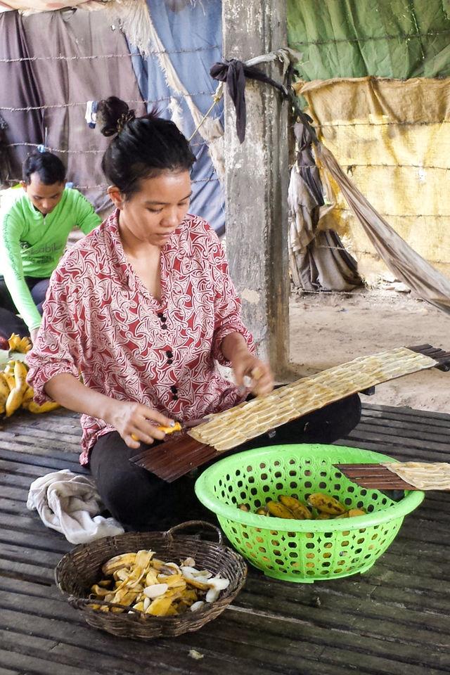 Artisans à Battambang au Cambodge.