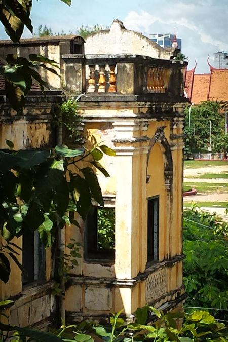 Patrimoine colonial cambodgien.