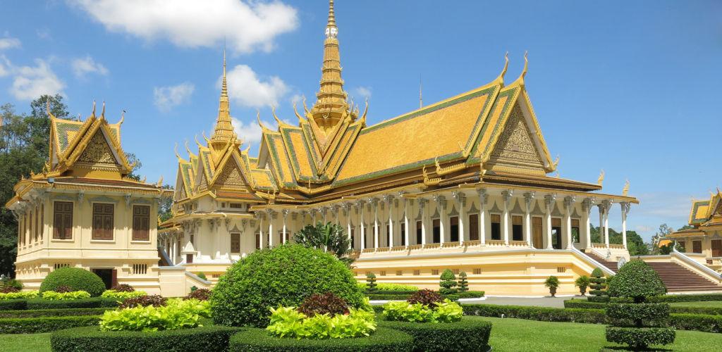 Palais royal de Phnom Penh.