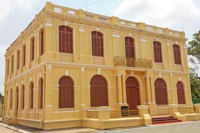 Musée de Kampot au Cambodge.