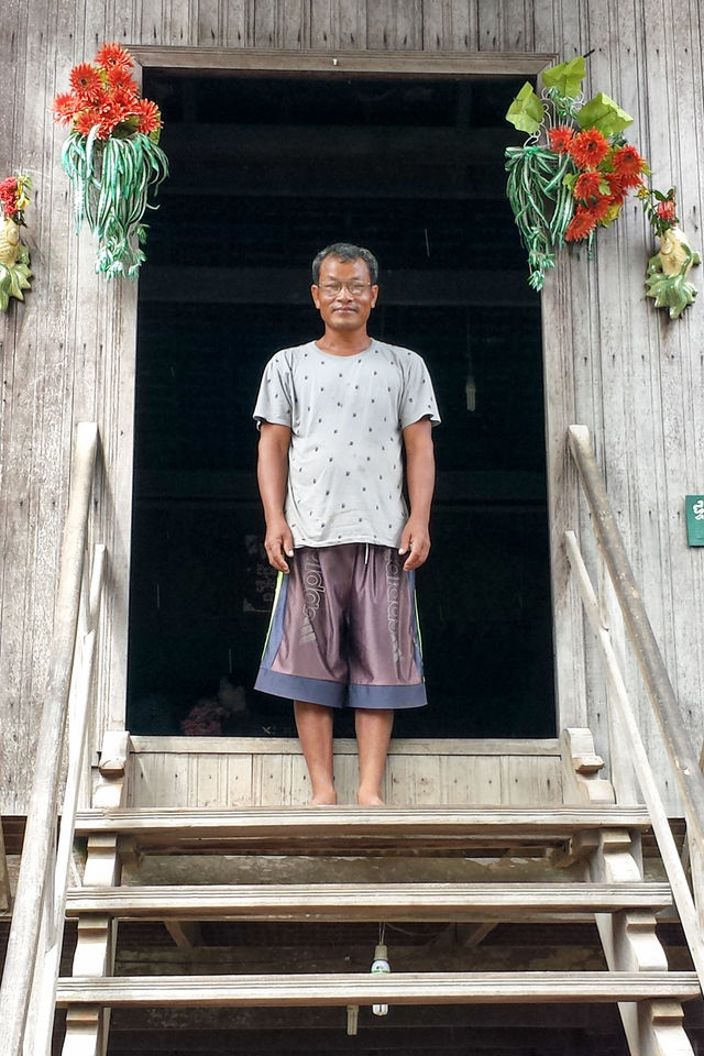 Villageois de la province de Kratié au Cambodge.