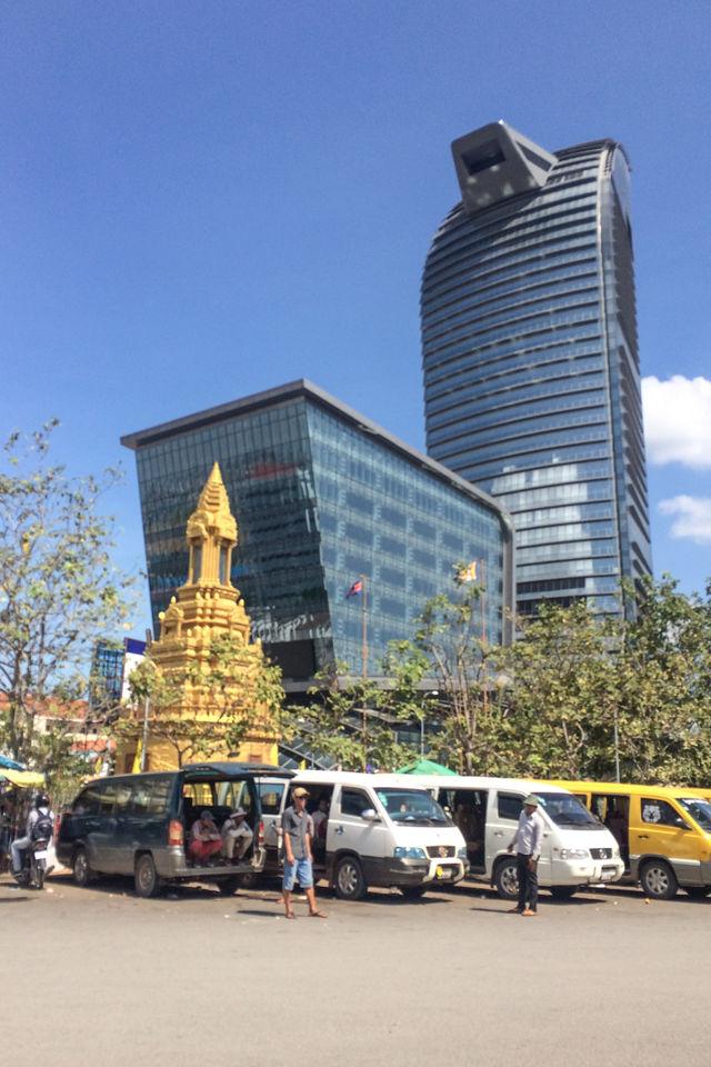 Tour Vattanac à Phnom Penh.