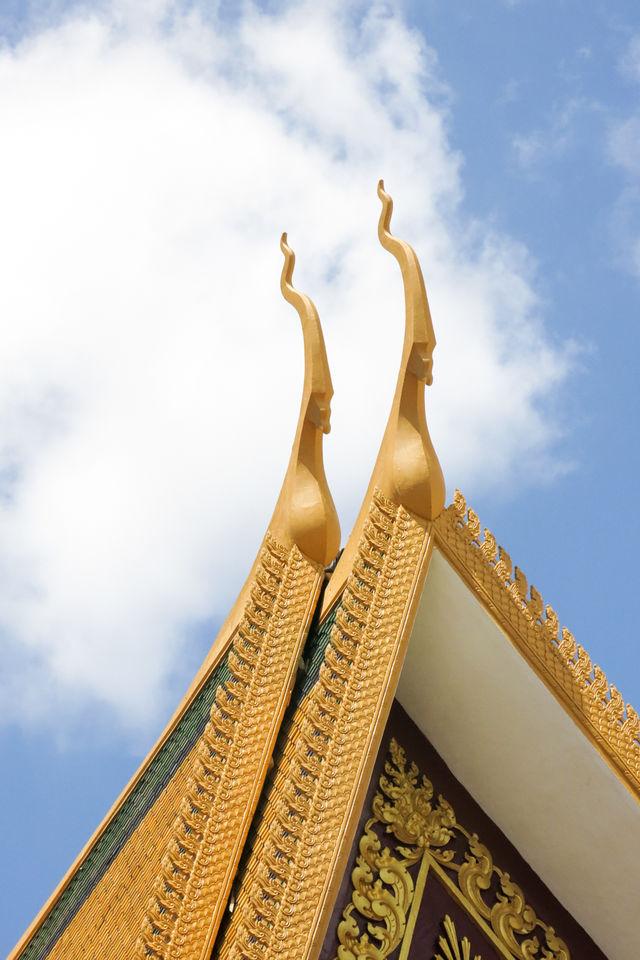 Palais royal du Cambodge à Phnom Penh.