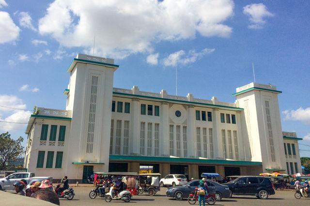 Gare de Phnom Penh au Cambodge.