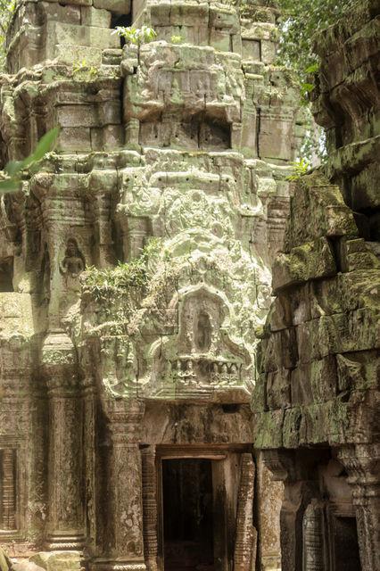 Le Ta Prohm à Angkor au Cambodge.