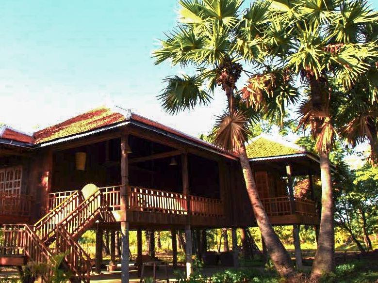 Maison traditiolnelle cambodgienne