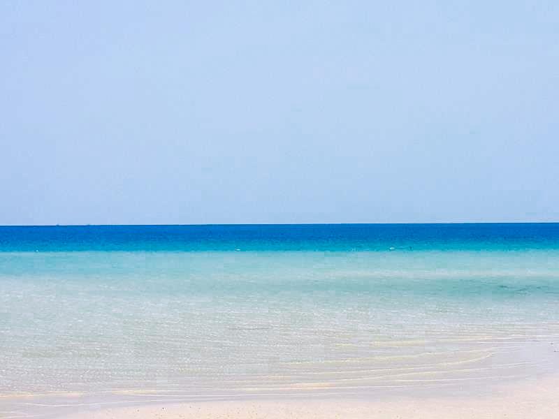 Bleu azur Cambodge
