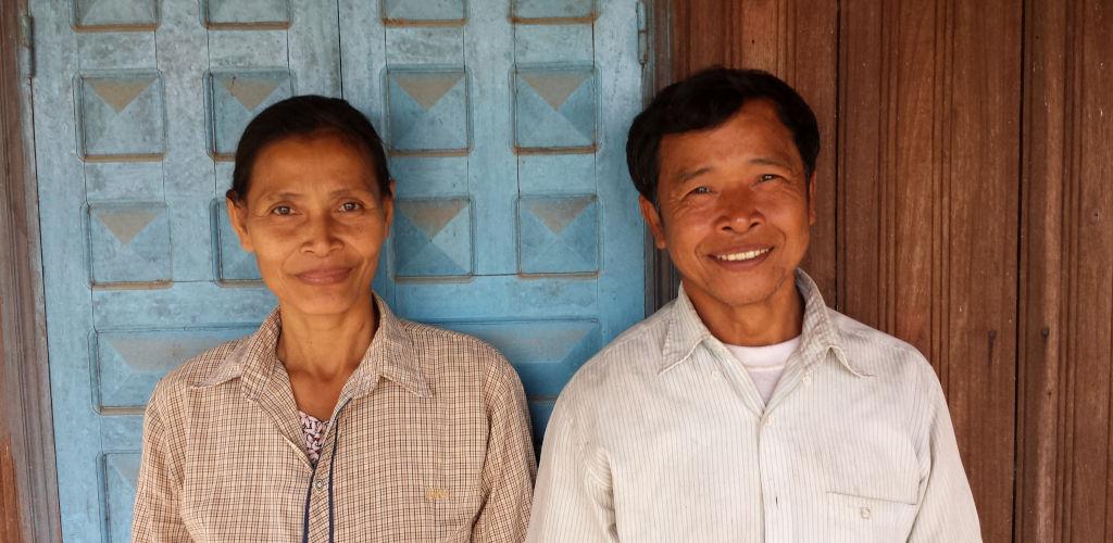 Logement chez l'habitant au Cambodge.