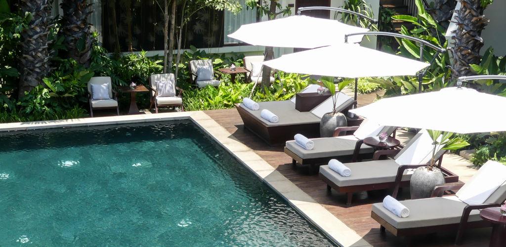 Hôtels de charme de luxe au Cambodge.