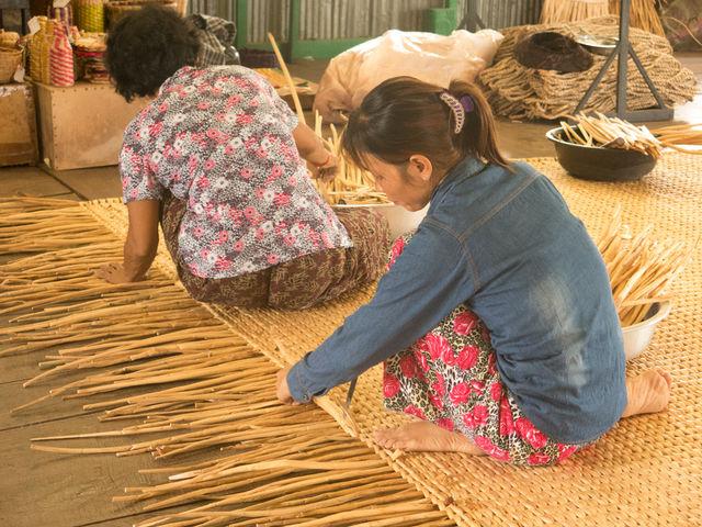 Artisanat cambodgien.