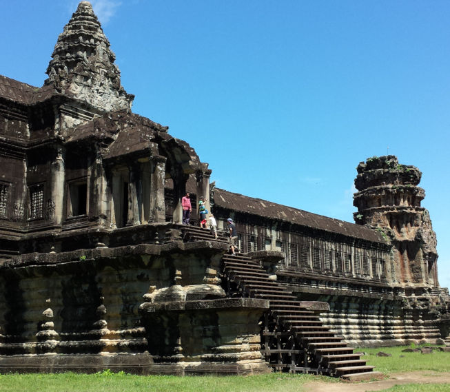 Temples d'Angkor au Cambodge